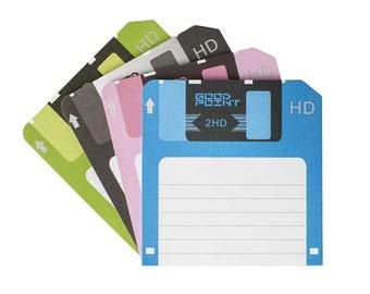 Floppy Disk Notepad
