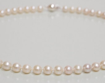 Classic White Freshwater Pearl Necklace