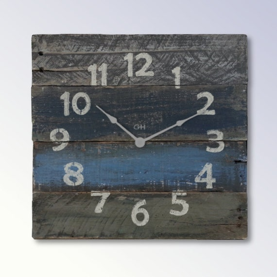 Beach Home Decor For Rustic Wall Clock Is The Perfect Beach Themed