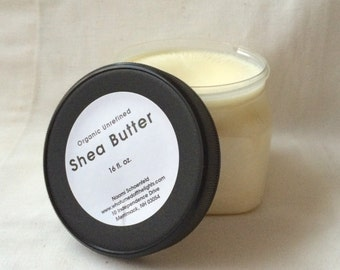Organic Shea Butter (16 oz.) - Unrefined