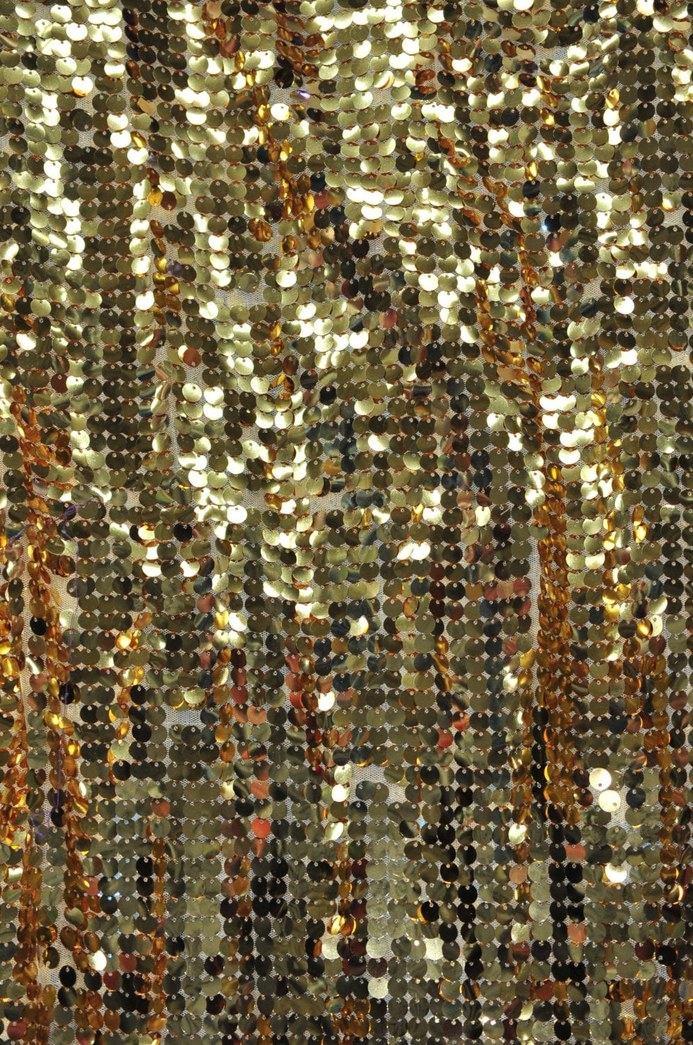 Gold Sequin Fabric Gold Sequin Fabric Wall