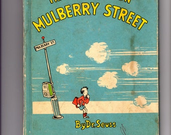 BKCH004  And to Think That I Saw It on Mulberry Street, 1937, Dr. Seuss