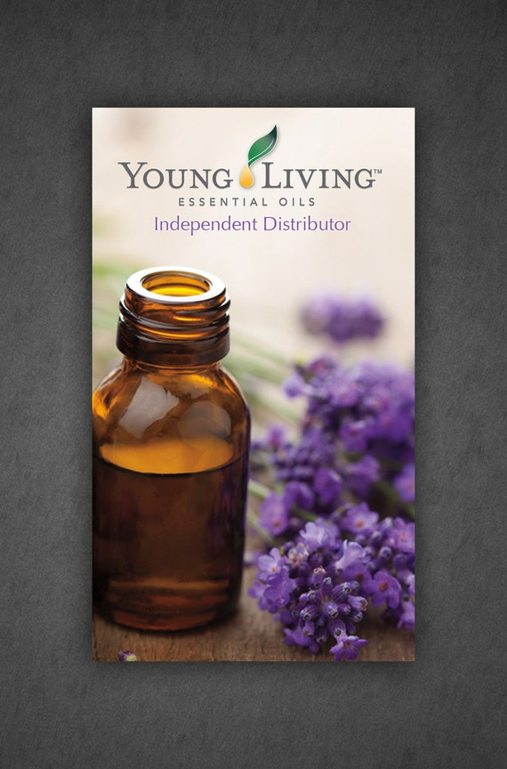 Printed Young Living Business Cards Full Color by