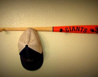 handmade baseball hat rack etsy