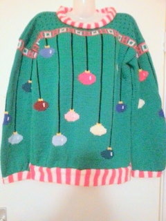 Knitted Sweater Patterns Free : Knitting pattern Arthur Christmas Sweater in adult sizes.