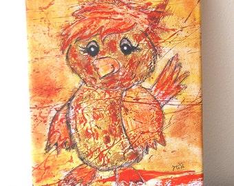 Canvas print: Little Sparrow