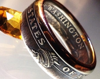 One Dollar Coin Ring