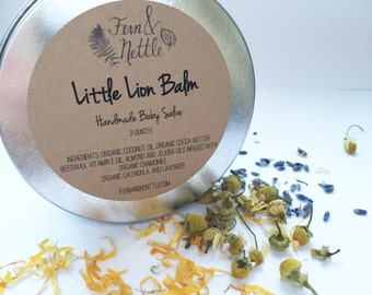 Little Lion Balm: Handmade Baby Salve