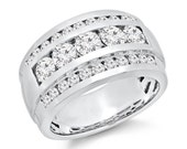Mens Diamond Ring 2.70 ct. tw.