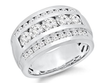 Mens Diamond Ring 2.70 ct. tw.