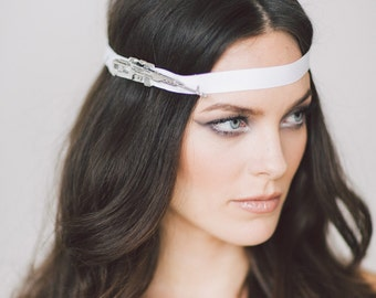 Fortuna Headpiece.  Wedding Headband, Bridal Headband, Wedding Accessories, Bridal Headpiece