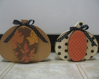 Thanksgiving Decor-Wood Pumpkin Shelf Sitter-Fall Decor-Fall Decorations-Autumn Decor-Pumpkin Decor-Thanksgiving Decorations-Leaf Decor
