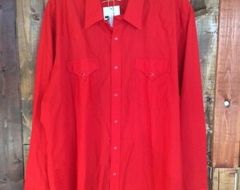 Red Ely Cattleman Long Sleeve