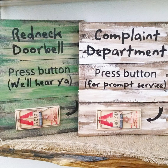 Redneck Wall Decor : Pallet wall decor rustic redneck signs hanging funny