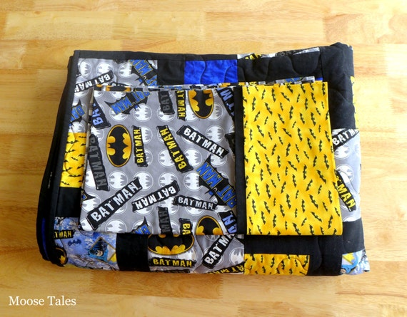 batman quilt batman bedding twin bedding twin quilt twin. Black Bedroom Furniture Sets. Home Design Ideas