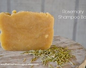 Rosemary Shampoo Bar - handmade - natural - rustic