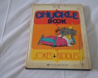 Vintage 1971 - The Chuckle Book - Golden Book, Illustrations Mel Crawford