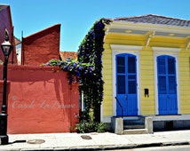 NEW ORLEANS STREETSCAPE photography ~ Doors of New Orleans ~ Fine Art Photography