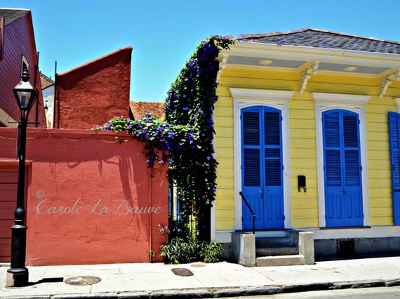 NEW ORLEANS STREETSCAPE photography ~ Doors of New Orleans ~ Louisiana Fine Art Photography ~
