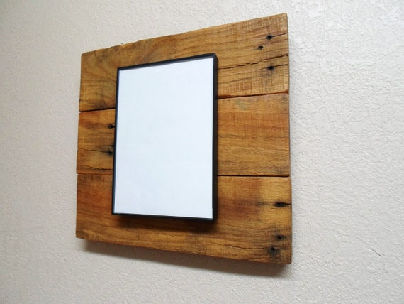 wooden 5x7 picture frame from reclaimed wood. Black Bedroom Furniture Sets. Home Design Ideas