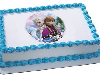 "Frozen Edible Image ""Sisters"""