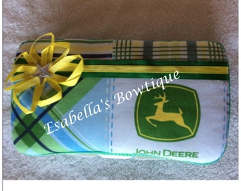 John deere travel wipe case;boys wipe case;john deere items;baby accessories