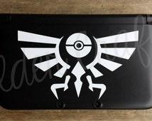 Hyrulian Pokemon 3DS Decal