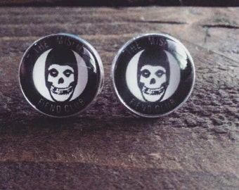 Fiend Club Stud Earrings