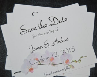 Save the Date Blossom Magnets