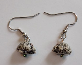Armadillo 3D Earrings