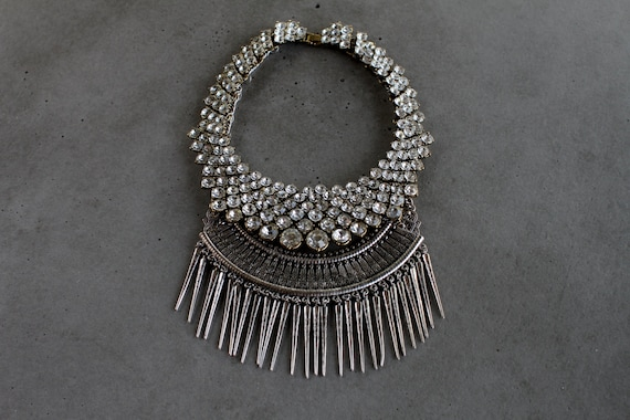 Statement Necklace - Handcrafted: Aalon.