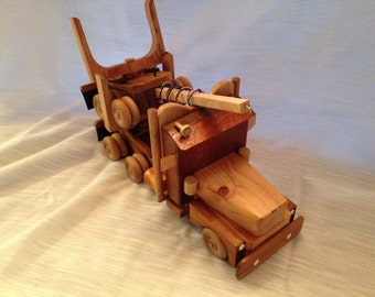 Toy Log Truck
