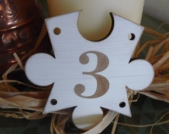Wedding Table Numbers, Wooden Puzzle Table Numbers, Unique Wedding Decor, Shabby Wooden Party Decor, Jigsaw,