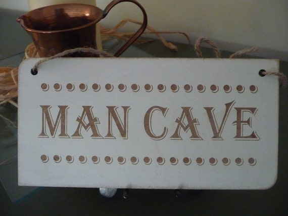 Man Cave Decor Etsy : Items similar to man cave sign custom