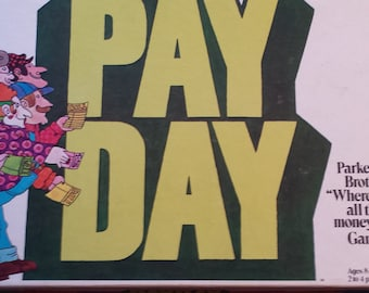 The Board Game that Outsold Monopoly in Year One ! Vintage Parker Brothers 1975 Payday board game #32 DC178-3