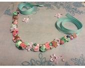 Neverland Mermaid Flower Crown