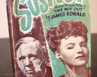 Vintage Book The Suspect By James Ronald