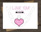 items similar to birthday card for boyfriendsexy naughty funny, Birthday card