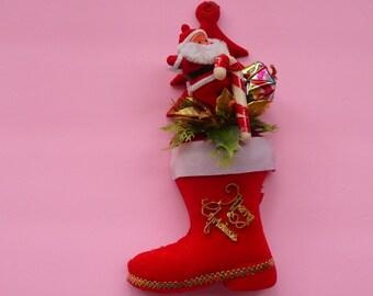Vintage Christmas Boot