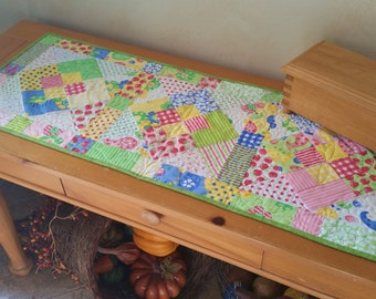 Square Dance Quilted Table Topper