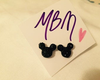 Mickey Mouse Head Stud  disney trip vacation cruise party favors prizes disney lovers bridesmaids gifts Disney FE