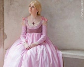 Lucrezia Borgia from the borgias renaissance pink dress