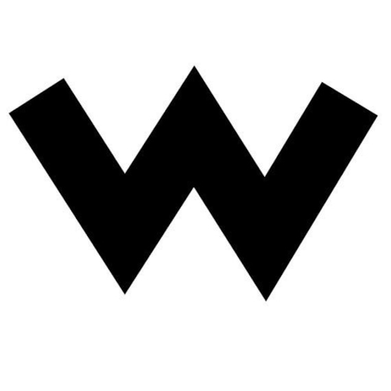 Super Smash Bros Wario Icon Logo Vinyl Decal by DeluxeStickers