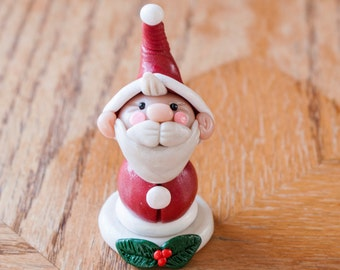 Little Santa made to order clay figure