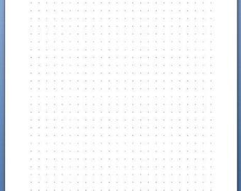 A5 dots paper 20 sheet