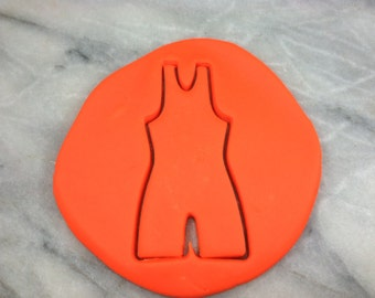 Wrestling Singlet Outline Cookie Cutter - SHARP EDGES - FAST Shipping - Choose Your Own Size!