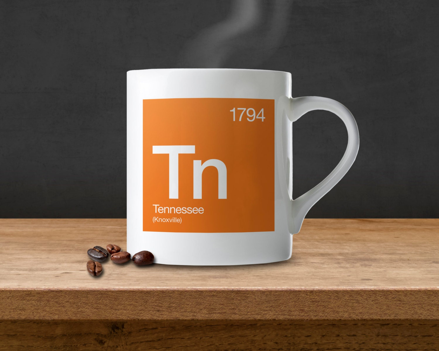 Tennessee Periodic Table Coffee Mug