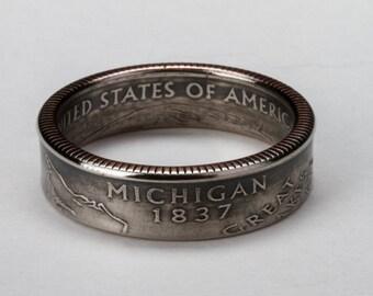 Michigan State Quarter Ring