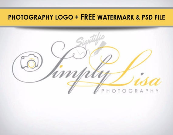 How To Make Your Own Photography Logo In Photoshop - YouTube