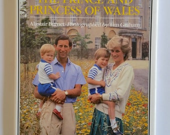 In private - In Public The prince and princess of wales  Royalty Biography and memoir  1986  by: Alastair Burnet